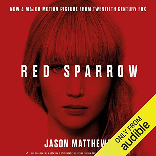 Red Sparrow                   Written by:                                                                                                                                 Jason Matthews                               Narrated by:                                                                                                                                 Jeremy Bobb                      Length: 17 hrs and 55 mins     4 ratings     Overall 4.5