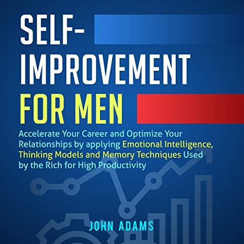Self-Improvement for Men audiobook cover art