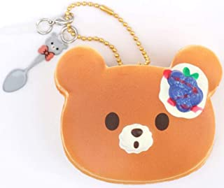 Puni Maru Mini Bear Pancake Scented Squishy, Slow Rising Squishies, Licensed Creamiicandy, Backpack Charm, Bag Charm, Key Chain