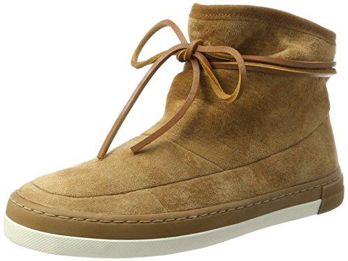 HUB Hub Damen Queen Boot N30 Hohe Sneaker, Braun (Oak Brown/Oak Brown-Off White), 40 EU