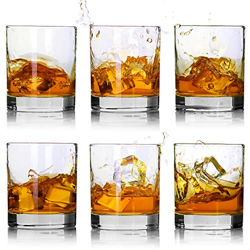 Set of 6 /Old Fashioned Whiskey Glasses