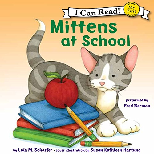 Mittens at School audiobook cover art