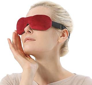 Eye Mask for Dry Eyes, Moist Heat Eye Compress for Blepharitis, Puffy Eyes, MGD, Stye Treatment Relief Microwaveable Warm ...