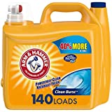 Arm & Hammer Clean Burst, 140 Loads Liquid Laundry Detergent, 210 Fl oz