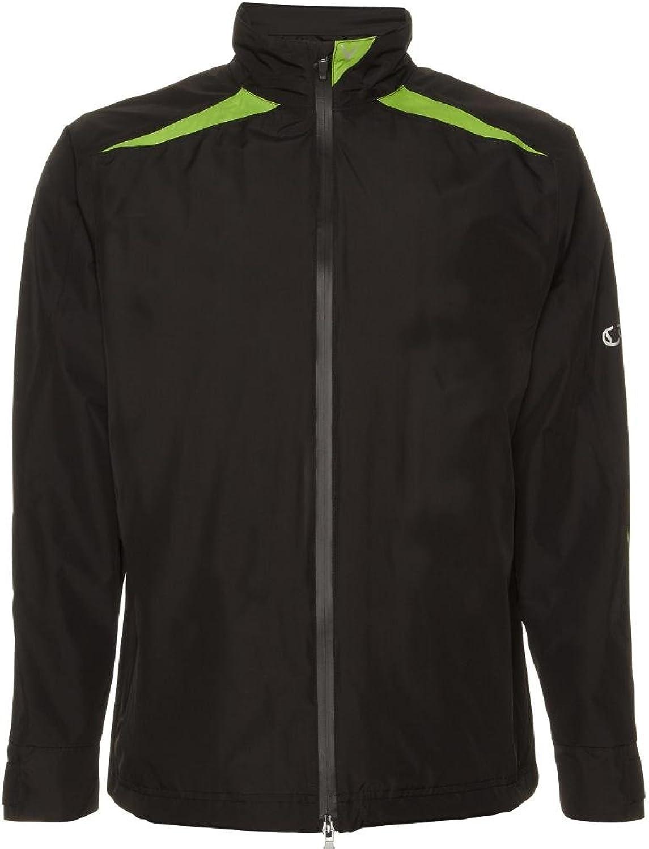 Callaway Mens Green Grass Waterproof Jacket 2013 Mens Black Green S Mens Black Green S
