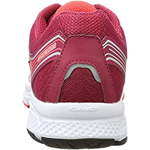 Saucony Women's Cohesion 10 Running Shoe, Grey/Pink, 9.5 M US