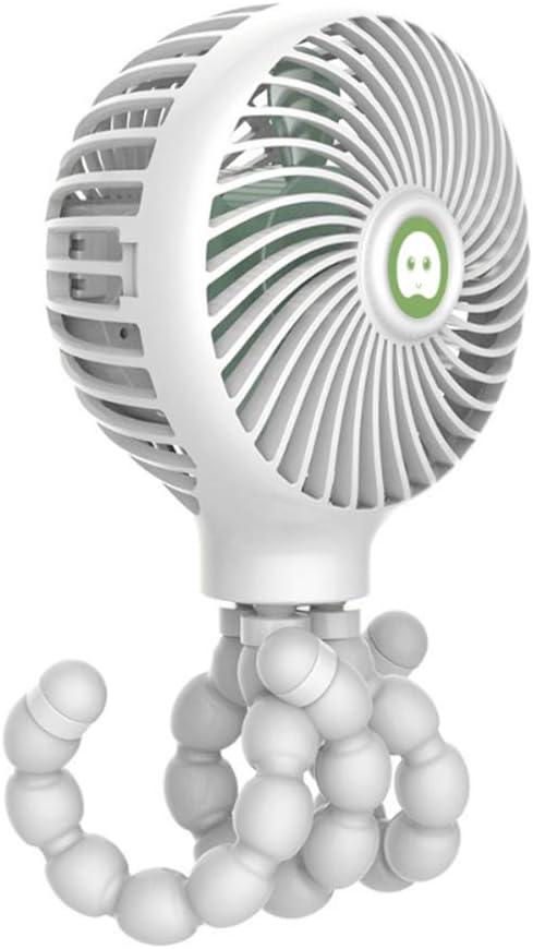 CTAU USB Fan Max 83% OFF Eight Claw Chargi Cartoon Folding specialty shop Fish Deformed