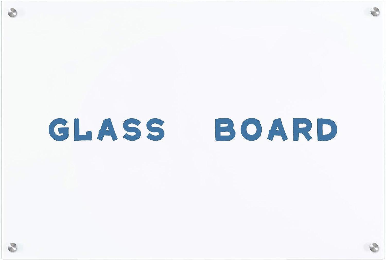 AMUSIGHT Non-Magnetic Glass Dry タイムセール Erase Ultra Board 高価値 White W