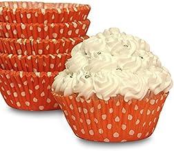 "Halloween Orange Polka Dot Cupcake Baking Cups 2"" X 1 1/4"" | Quantity: 200"