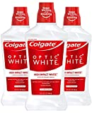 Colgate Optic White Whitening Mouthwash, 2% Hydrogen Peroxide, Fresh Mint - 946mL, 32 fluid ounce (3...