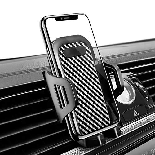 Handyhalterung Auto, Kfz-Halterung mit Lüftungsklammer, Universell Einstellbar 360° Rotation Belüftungsöffnung Handy Autohalterung für iPhone XR XS 8 7 6s Plus Samsung Galaxy S7 S8 S9 OnePlus Huawei