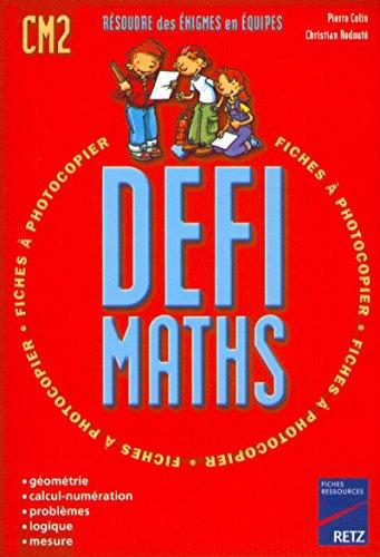 Défi maths, CM2