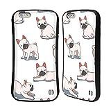 Head Case Designs Ufficiale Haroulita Bulldogs Francesi Cani E Gatti Cover Ibrida Compatibile con Apple iPhone 6 Plus/iPhone 6s Plus