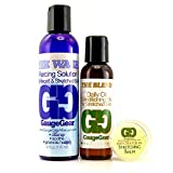 Gauge Gear Premium Stretched Ear Care Kit | Piercing Aftercare and Stretched Skin Care | Stretching Balm, Daily Oil