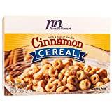 HealthSmart High Protein Cinnamon Cereal, 15g Protein, Low Calorie, Low Sugar, Low Fat, Gluten Free, KETO Diet Friendly, Ideal Protein Compatible, 7 Count Box