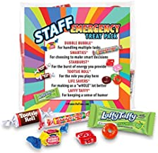 Staff Emergency Treat Pack (sets of 50) - Employee Survival Kits - Goody Bags Appreciation Gifts