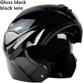 Flip Up Motorcycle Helmet Mens Modular Helmet Female Dual Lens