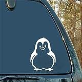 Dozili - Adhesivo de Vinilo para Coche, Moto, pingüino, Bonito Animal para Embalaje de Coche, Accesorios de Embalaje del Producto, diseño de Apliques de decoración de Animales de 6 cm