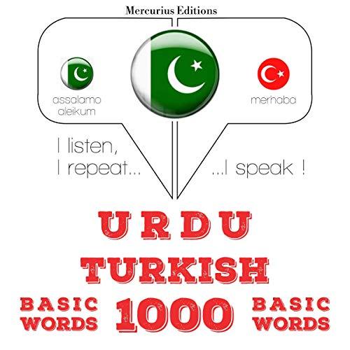 Urdu – Turkish. 1000 basic words cover art