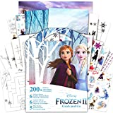 Disney Frozen Stickers Activity Coloring Book ~ Elsa, Anna, Olaf, and Kristoff