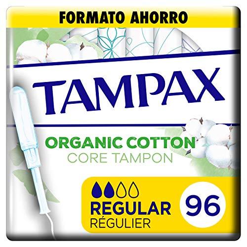 Tampax  Cotton Protection Regular Con Aplicador 96 x, Tampones De Algodón Orgánico De Tampax