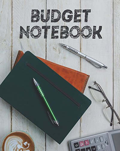 Budget Notebook: 8