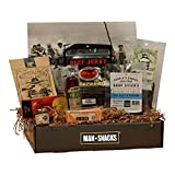 ManSnacks - BEEF BEEF BEEF - A Manly Assortment Of Beef Jerky, Sausage And Grub For The Meat Lover, All Packed In A Fun, Manly Gift Box. It's A Gift Basket For Real Men.