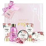 Confezione regalo Bath Spa per donna - Lussuoso set da bagno e corpo da 6 pezzi, Regalo perfetto per...