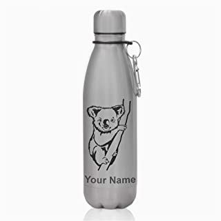 Water Bottle, Koala Bear, Personalized Engraving Included