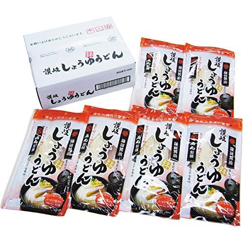 石丸製麺 半生讃岐しょうゆうどん(6袋)