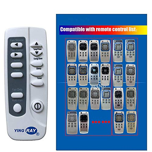 YING RAY Replacement for Frigidaire Window Air Conditioner Remote Control Listed in The Picture (1PC)