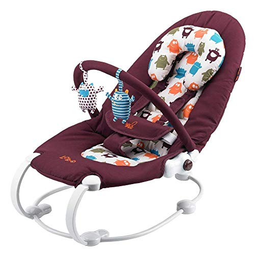 BabaBing loBO2 Two Position Baby Bouncer (Little Monsters)