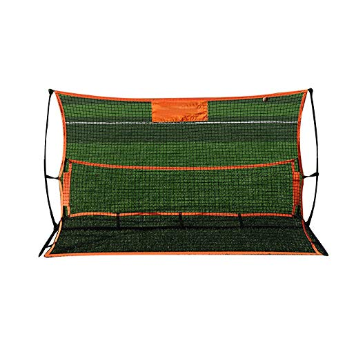 ZAIHW Fußball-Trainer Tragbarer Fussball Rebounder Net for Volley, Passing und Solo Trainings