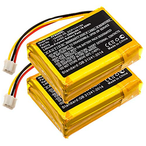 subtel 2X Batería Premium Compatible con Philips Fidelio B5, 104050-2S, 2ICP11/41/54 2500mAh Pila Repuesto bateria