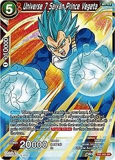 Universe 7 Saiyan Prince Vegeta - TB01-004 - SR - The Tournament Of Power