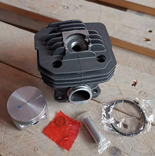 HOWWO KF-Ring Cilindro Piston Kit de 48 mm Fit para OLEO-Mac 962 965 EFCO 162 Motosierras Mascasas de zilindro Zlben Anillo Pin Clips Montaje 50022006