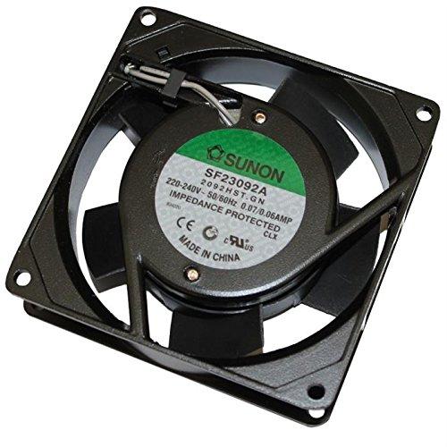 Fan/Ventilador 230V 14,5W 92x92x25mm 49,2m³/h 36dBA ; Sunon SF23092A2092HST