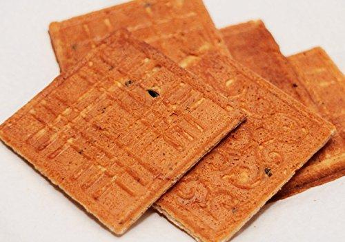 丹波の黒太郎 黒豆豆乳きなこせんべい 24枚入り×15袋