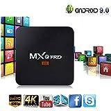 MXQ Pro 4K Android 7.1 TV Box, Idealforce MXQ Pro Amlogic S905W HD 3D Smart TV Box 1GB Ram 8GB ROM Quad Core WiFi HDMI TV Box(1GB+8GB)
