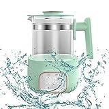 LWKBE Babyflasche Wärmer Thermostatkessel-Kessel-Milchwärmer mit trocknendem Babymilchwärmer und Milchhersteller bequem
