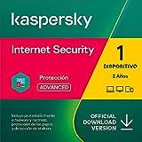 Kaspersky Internet Security 2021   1 Dispositivo   2 Años   PC / Mac / Android   Código de activación enviado por email