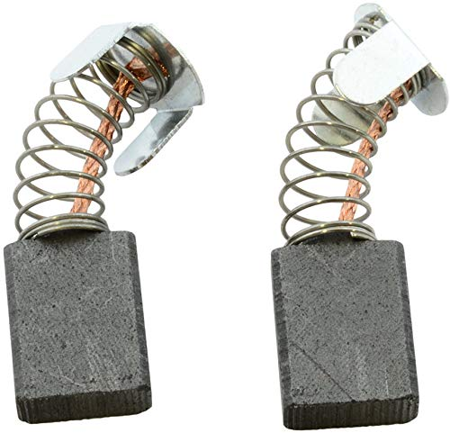Escobillas de Carbón para MAKITA LS1040 ingletadora - 6,5x13,5x16mm - 2.4x5.1x6.3
