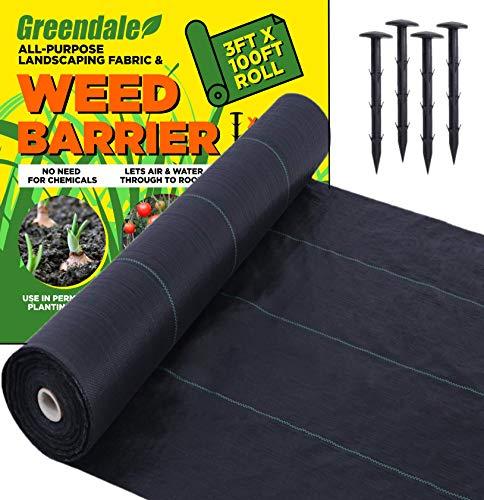 Greendale - 3ft x 100ft Roll - Plus 100 Garden...