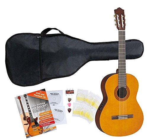 Yamaha CX40 Konzertgitarre SET inkl. Zubehörset + Stimmgerät