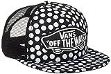 Vans Damen Beach Girl Trucker HAT Baseball Cap, Schwarz (Oversize DOTS M9A), One Size