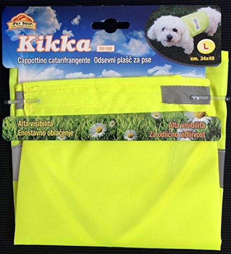 Mantel Kikka reflektierend Tg.L für Hunde - Mantel mit hoher Sichtbarkeit