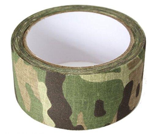 Bushcraft Fabric MTP Camo Tape, Mehrfarbig, 5 cm x 10 m