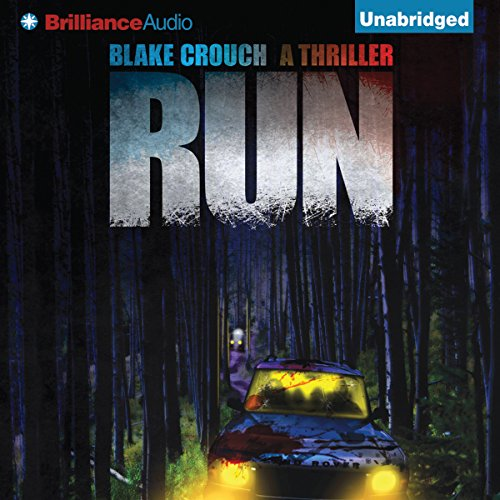 Run audiobook cover art