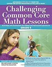 Challenging Common Core Math Lessons (Grade 5): Activities and Extensions for Gifted and Advanced Learners in Grade 5 (Challenging Common Core Lessons)