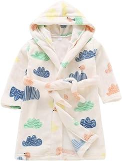 Underwear & Sleepwears Bathrobe Kids Boys Robes Children Bathrobe Hooded Cap Soft Velvet Robe Pajama Kids Cotton Warm Clothes Baby Lovely Home Clothes Men's Sleep & Lounge